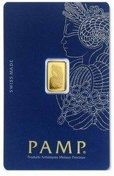 Sztaba złota PAMP 1 g