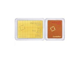 Sztaba złota VALCAMBI Combibar 50 x 1 g